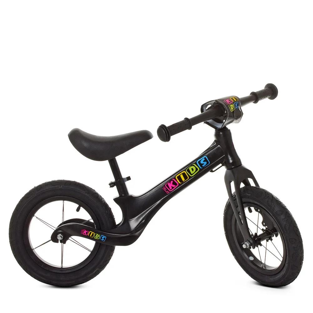 Детский беговел Profi Kids SMG1205A-1, черный