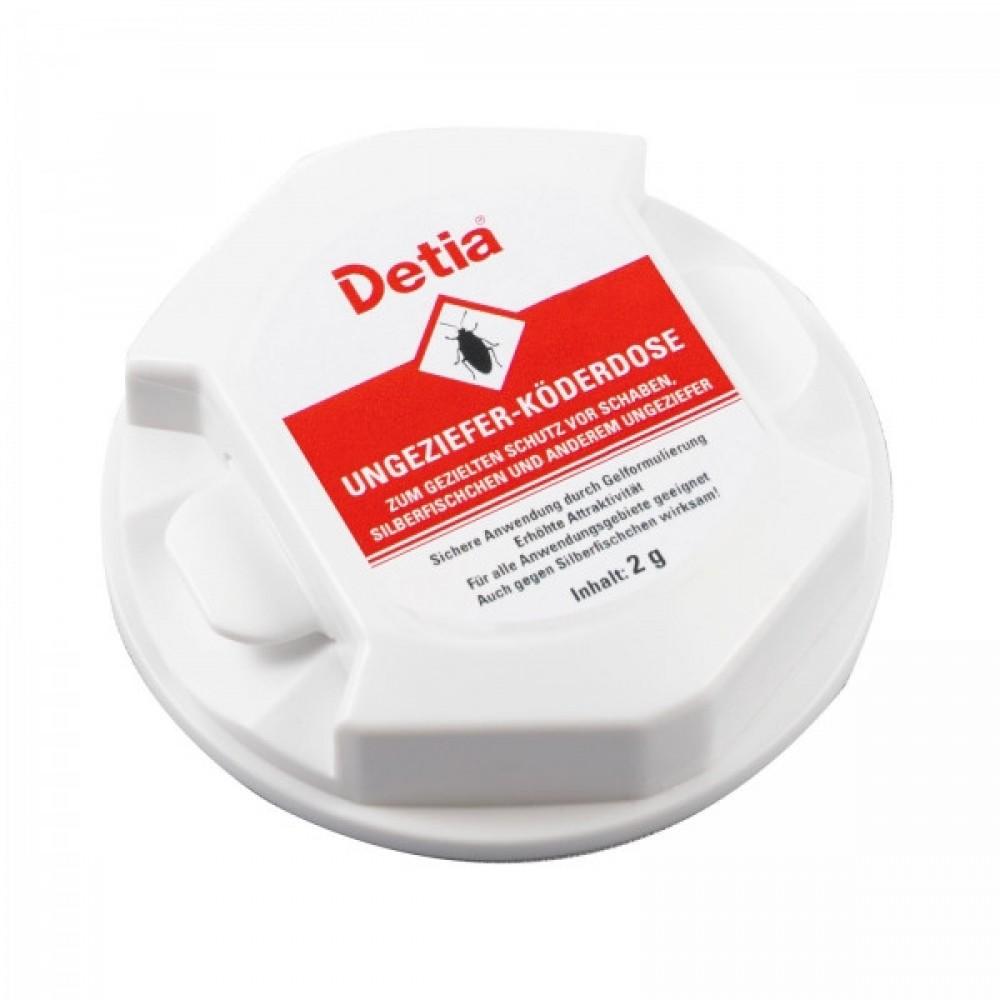 Приманка-биоцид Detia для тараканов, муравьев и других насекомых в доме
