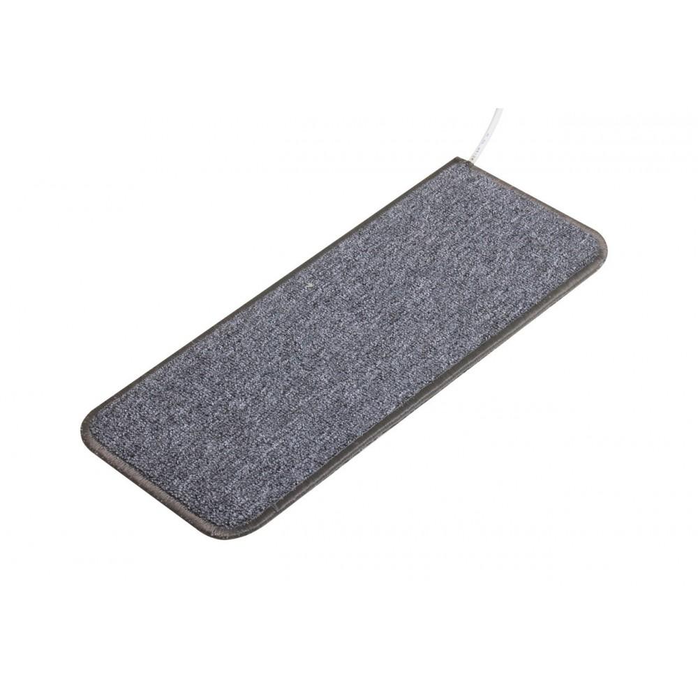 Теплый ковер 53 x 23 cм, серый, инфракрасного излучения