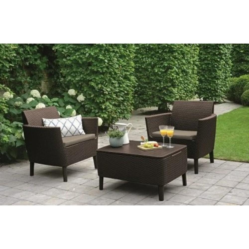Набор мебели Salemo balcony set коричневый
