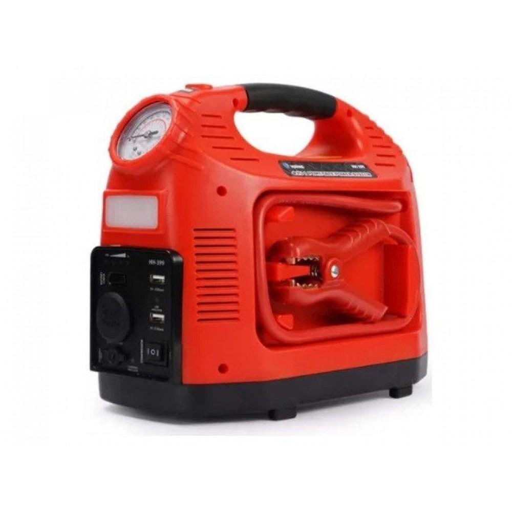 Автомобильный компрессор с фонарем HH 399 Emergency Power