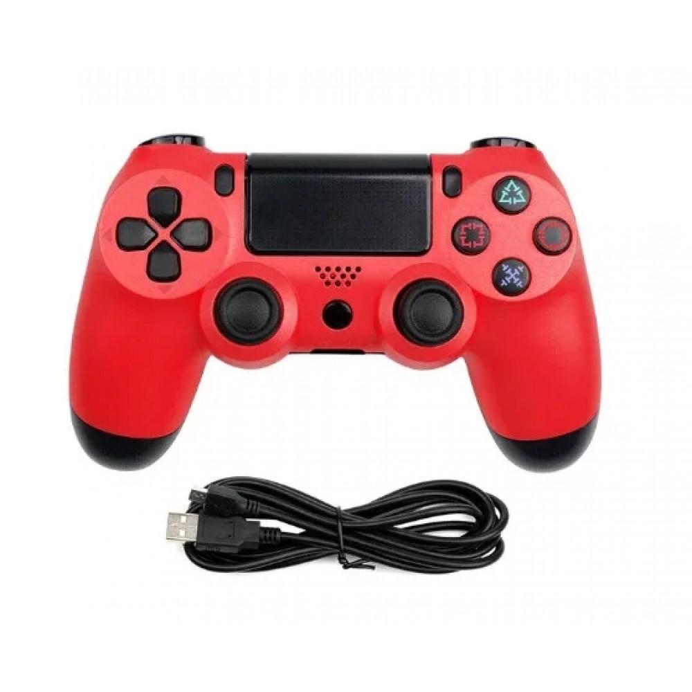 Джойстик геймпад DualShock 4 PS4 wireless controller, красный