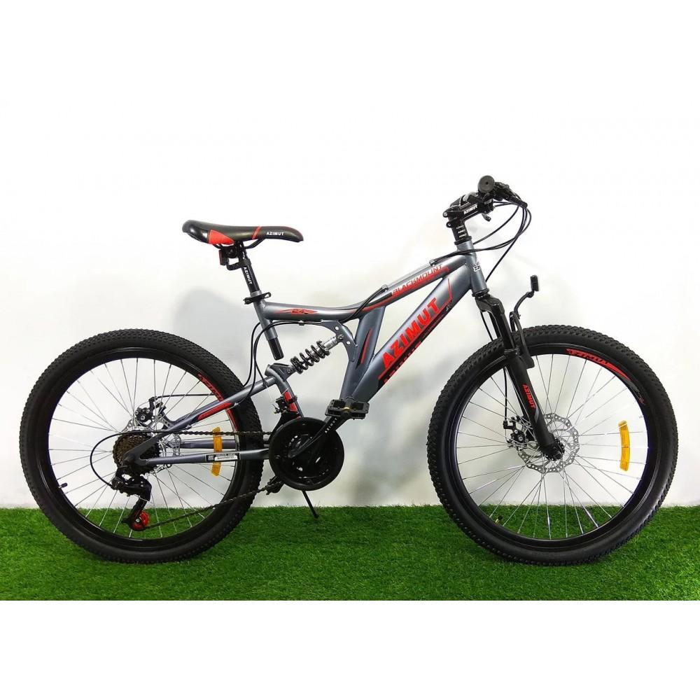 Горный велосипед Azimut Blackmount 26 GD, рама 18