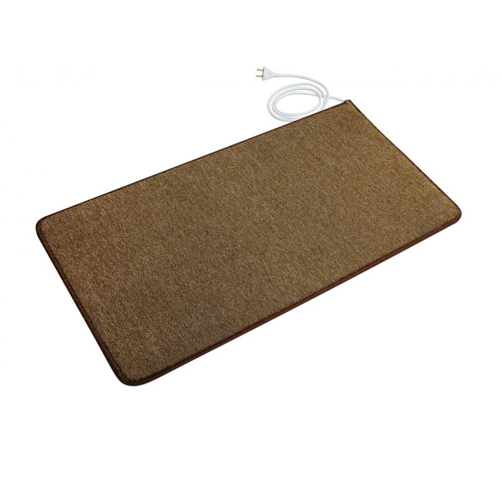 Теплый ковер 53 x 83 cм, коричневый, инфракрасного излучения