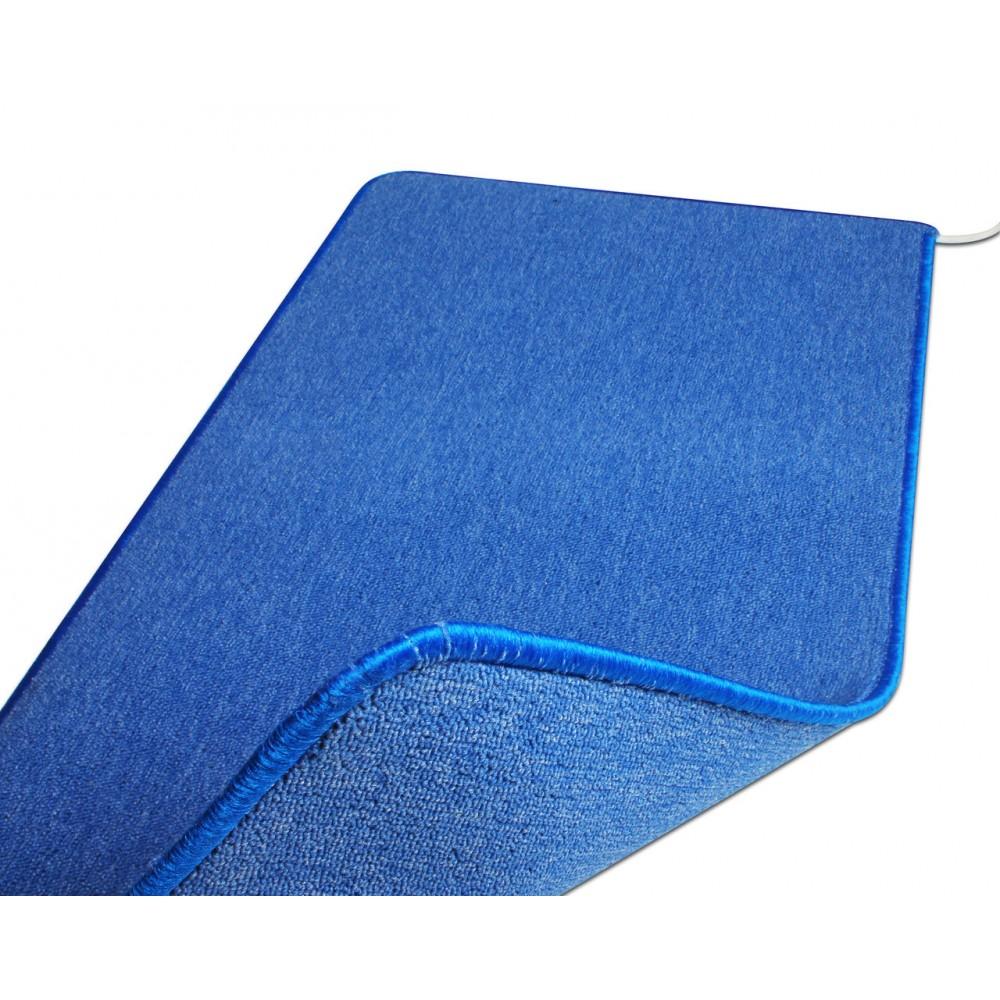 Теплый ковер 53 x 143 cм, синий, инфракрасного излучения