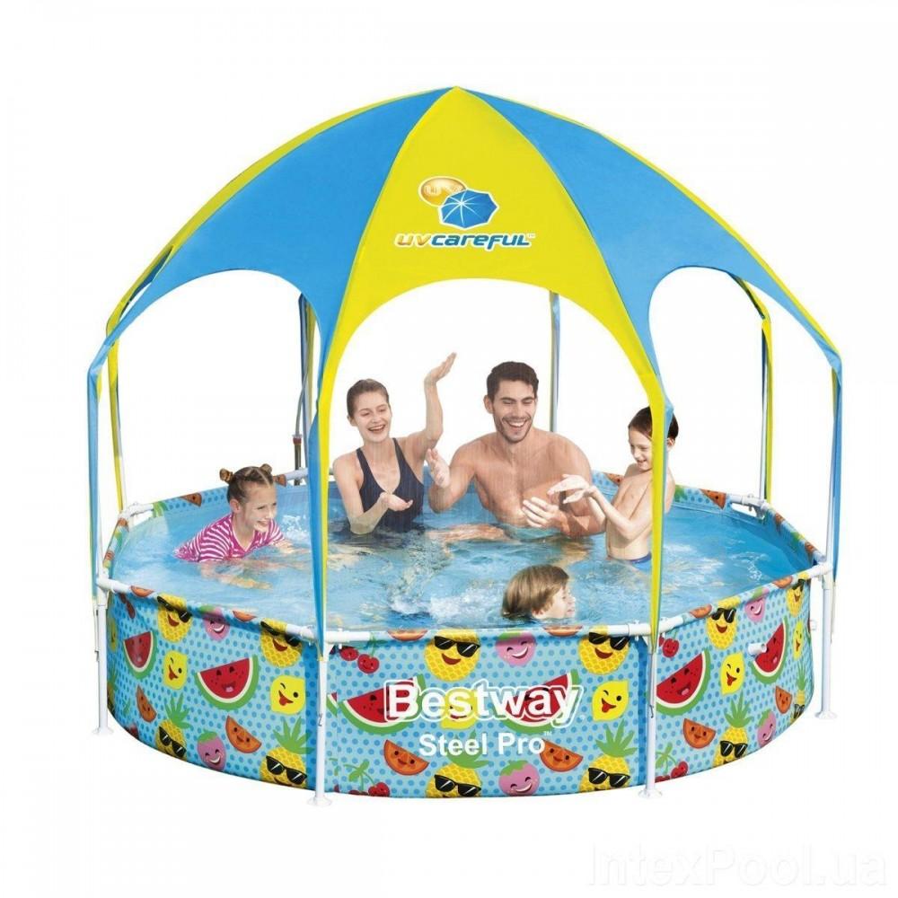 Каркасный бассейн Bestway 56432, 244 x 51 см