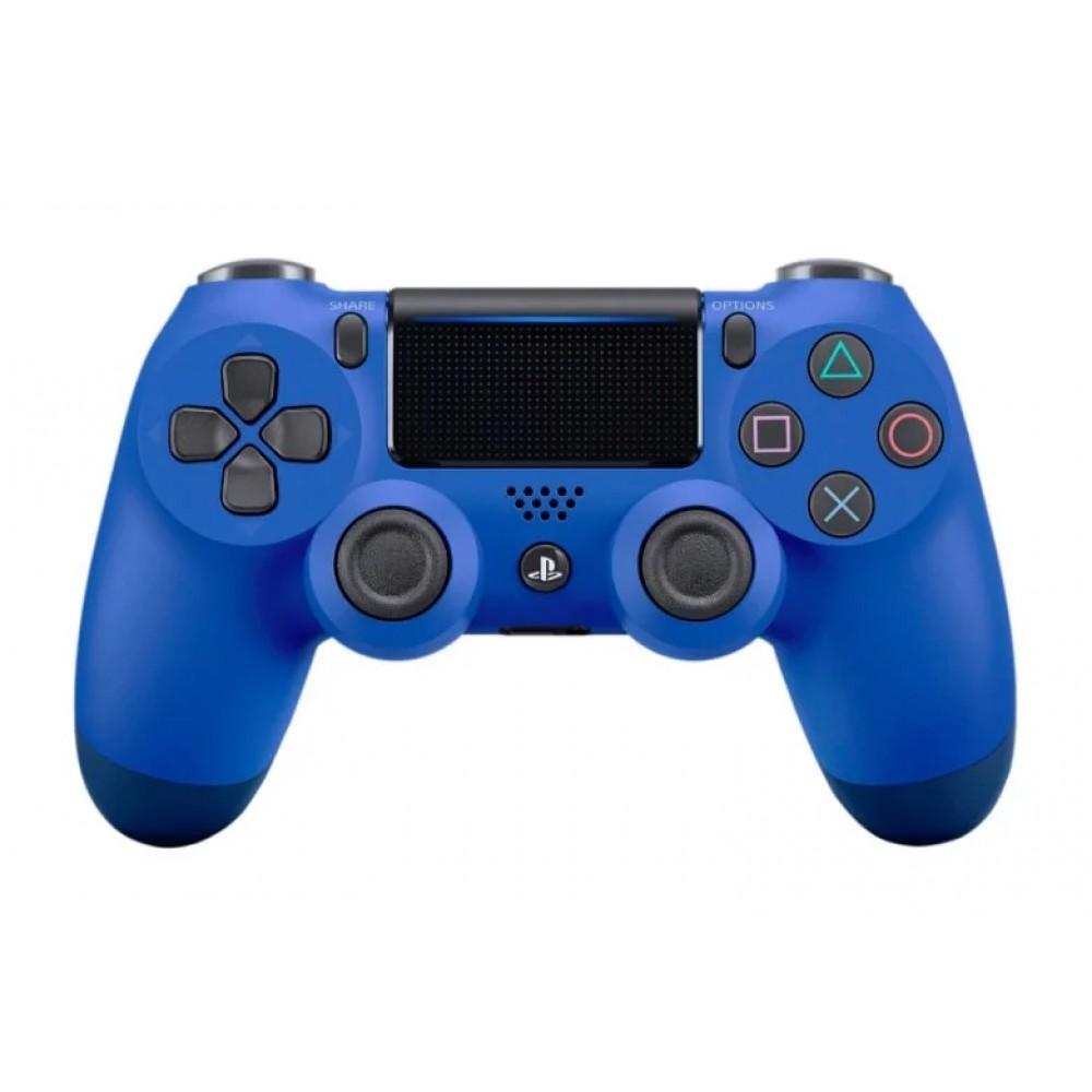 Джойстик геймпад DualShock 4 PS4 wireless controller, синий