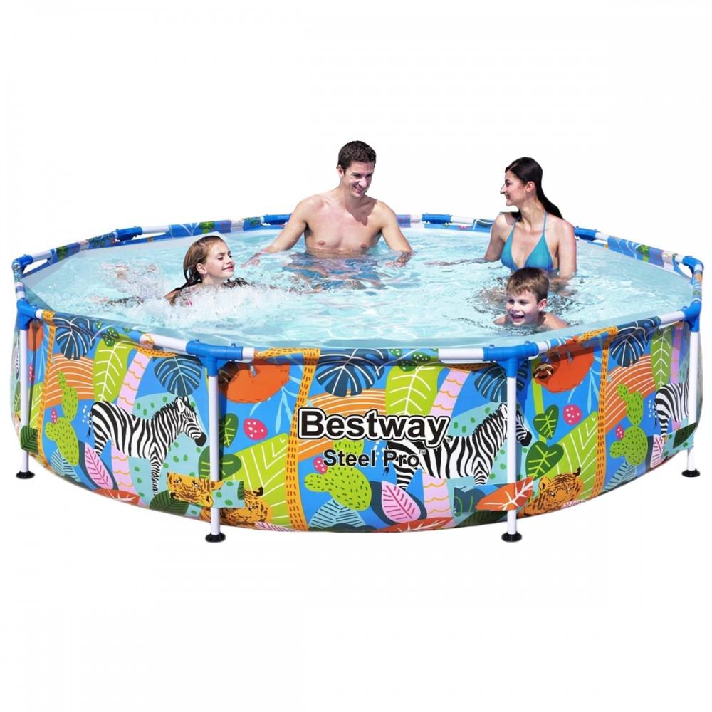 Каркасный бассейн Bestway 5612F-2, 274 х 66 см