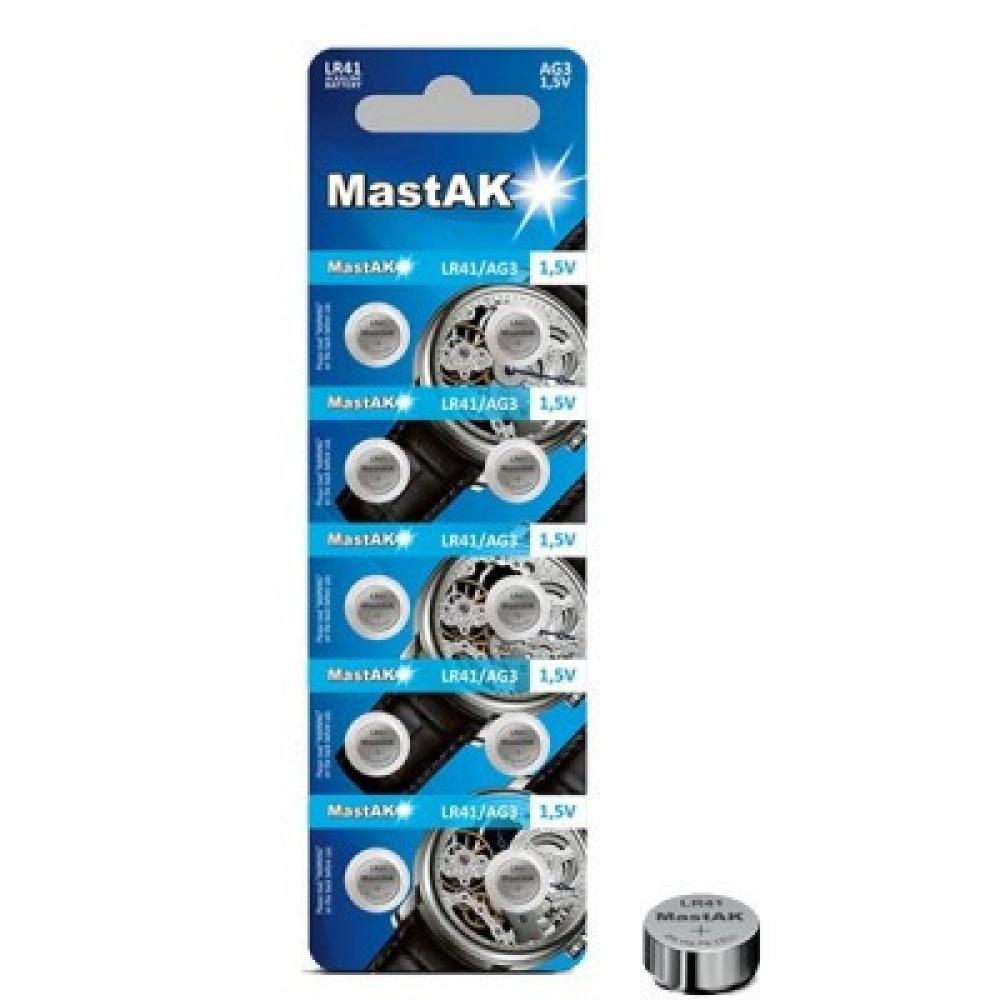 Батарейка G5 Mastak Alkaline 1,5V, 10 шт.