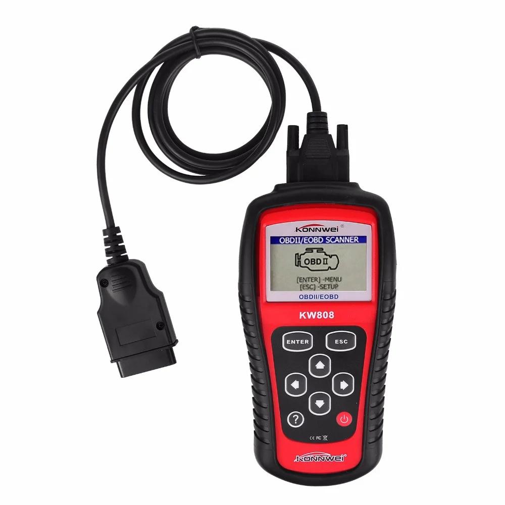 Автомобильный диагностический сканер Konnwei KW808 OBD II/EOBD, 5593