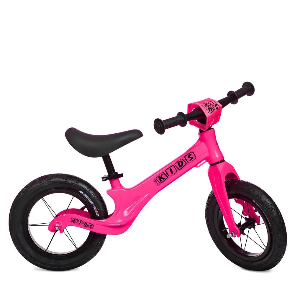 Детский беговел Profi Kids SMG1205A-4, розовый