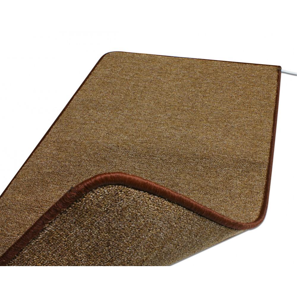 Теплый ковер 53 x 123 cм, коричневый, инфракрасного излучения
