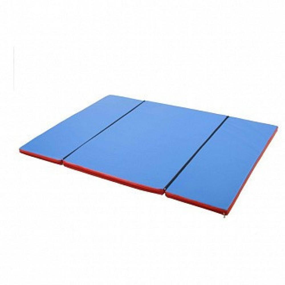 Мат Домино 120х160x4 см складной гимнастический