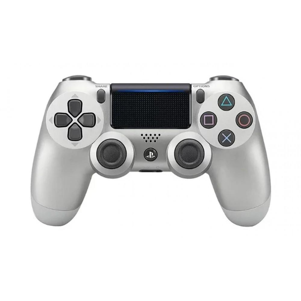 Джойстик геймпад DualShock 4 PS4 wireless controller, серый