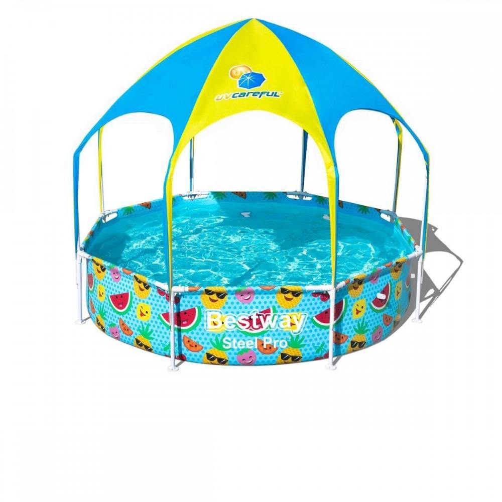 Каркасный бассейн Bestway 56432-2, 244 x 51 см
