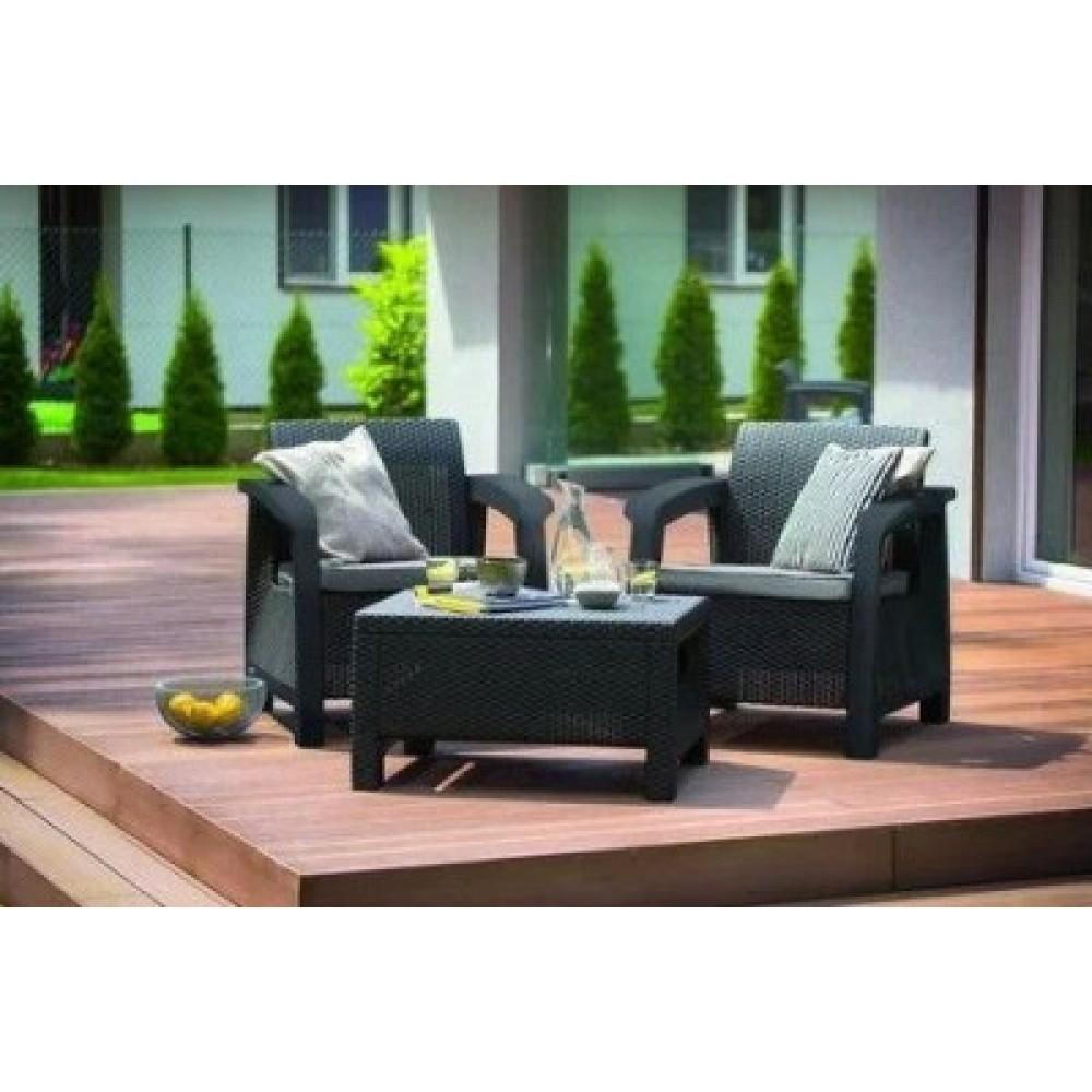 Набор мебели Bahamas weekend серый