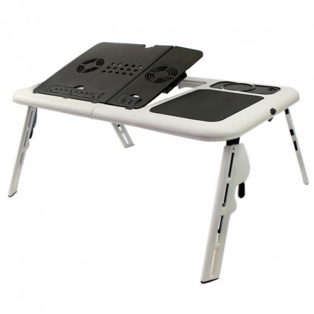 Раскладной столик подставка с вентиляцией для ноутбука E-Table LD-09