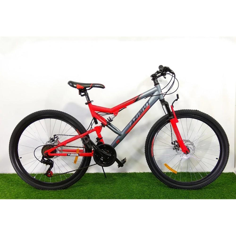"""Горный двухподвесный велосипед Azimut Scorpion 26"""" GD, рама 17"""