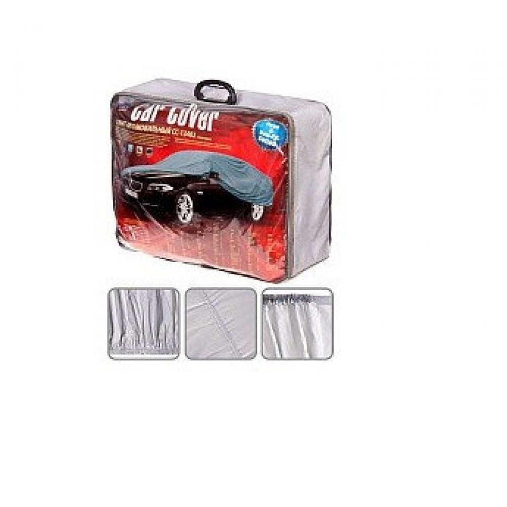 Тент на машину седан Vitol CC13402 M полиэстер 432x165