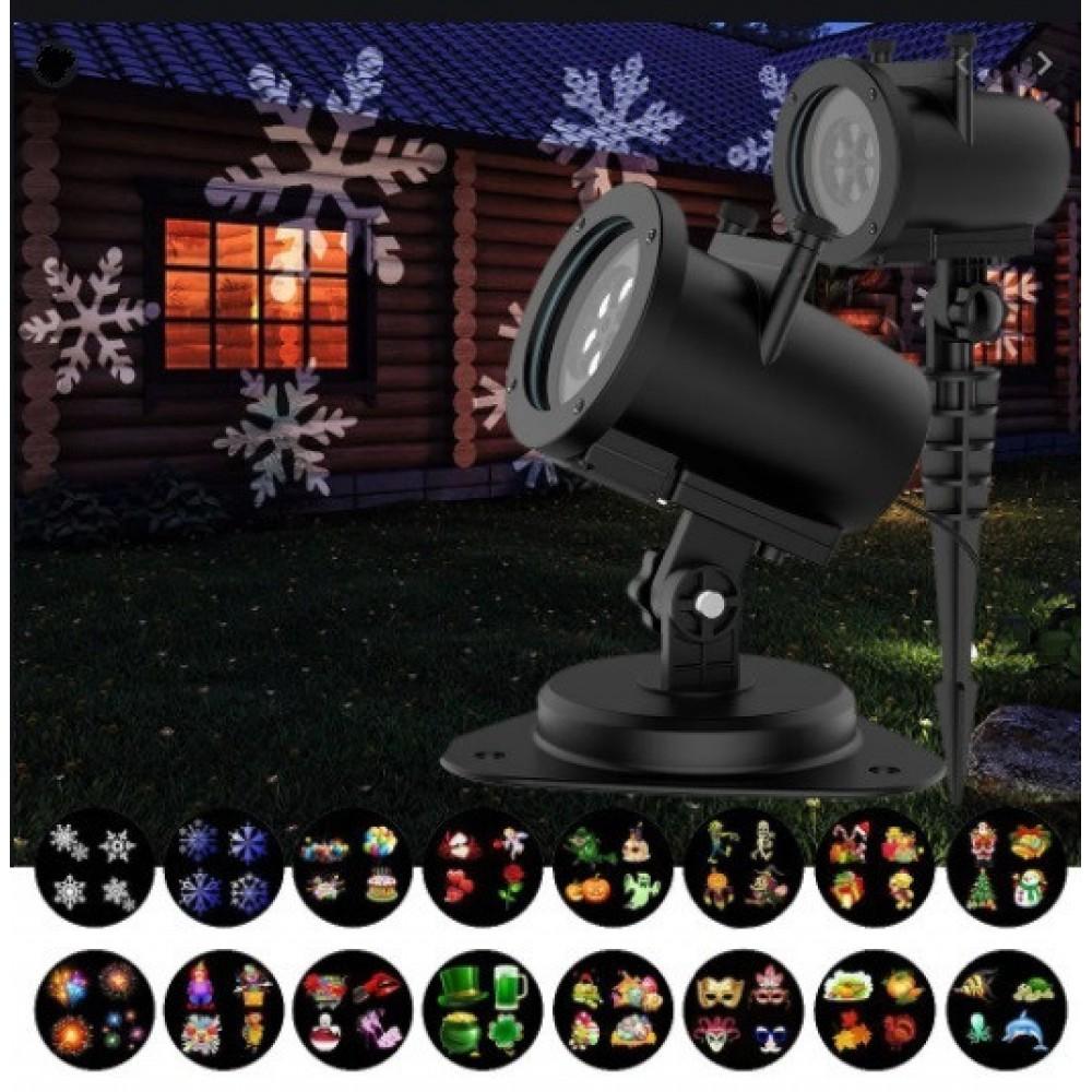 Лазерный проектор Star Shower Slide Show 16F 16 слайдов 3276