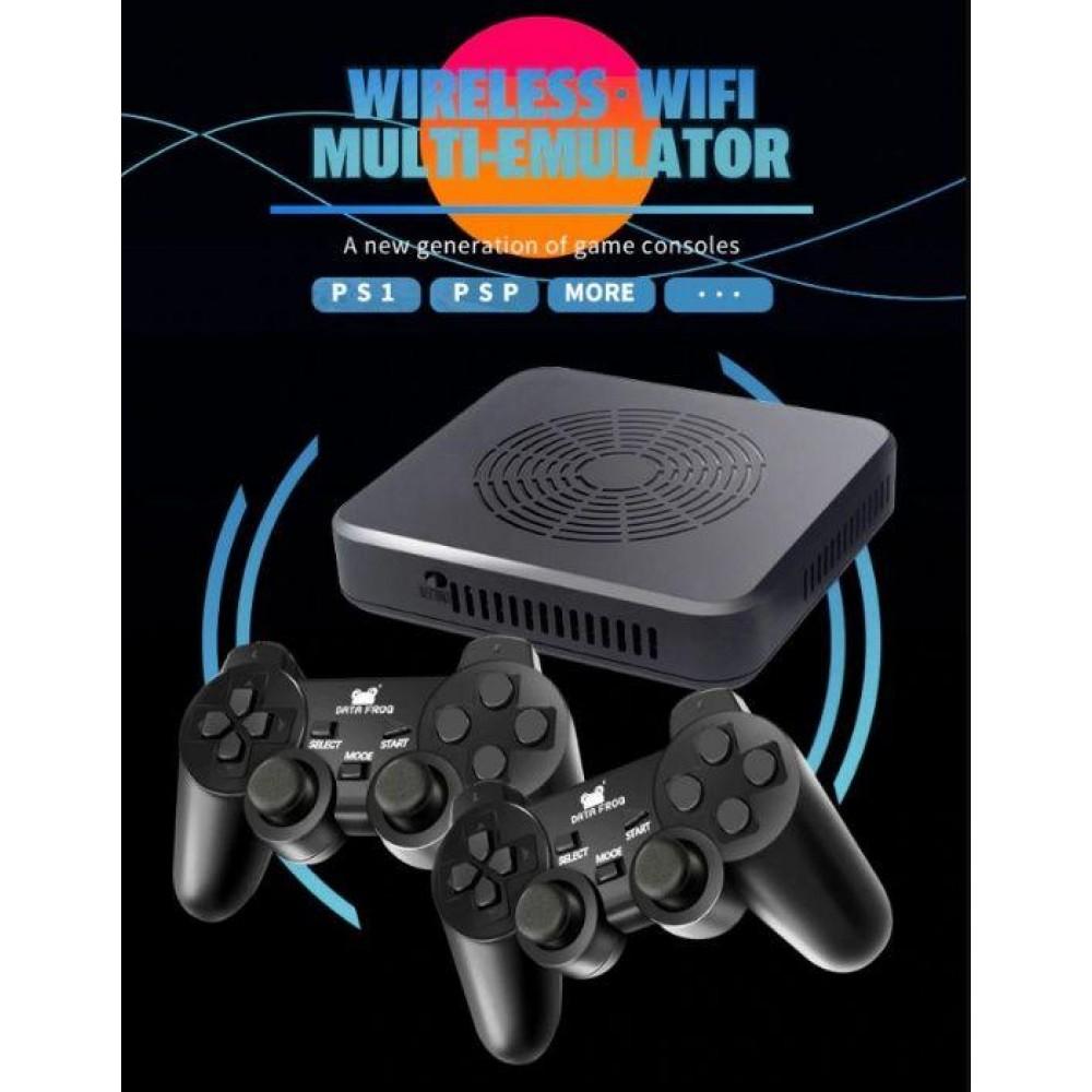 Игровая приставка Dendy Data Frog Y5 PS+PSP+SEGA+DC+N64 денди консоль