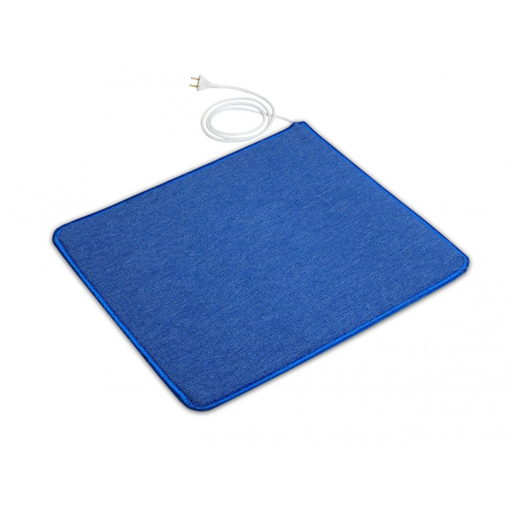 Теплый ковер 53 x 63 cм, синий, инфракрасного излучения