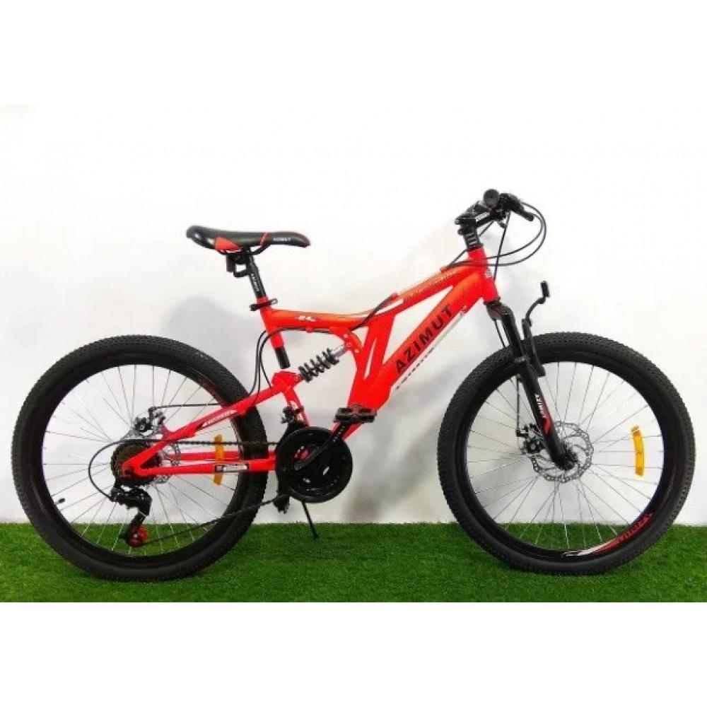 Велосипед AZIMUT Blackmount 26 D, рама 18