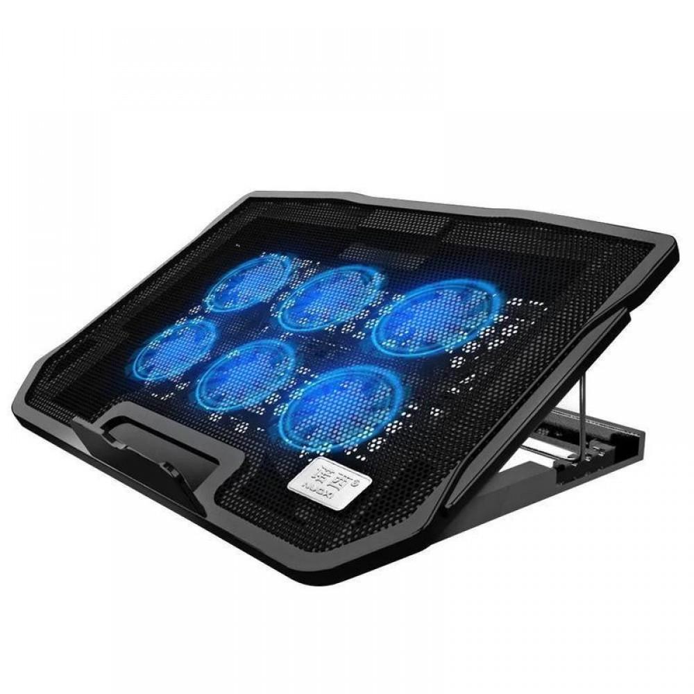 Охлаждающая подставка для ноутбука H5 с подсветкой и уровнем наклона