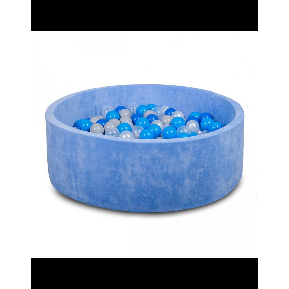 Бассейн для дома сухой 80 см, детский, синий