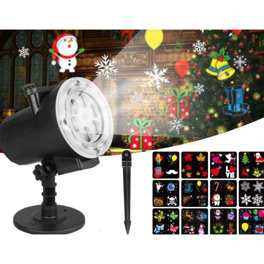 Лазерный проектор Star Shower Slide Show ZP1