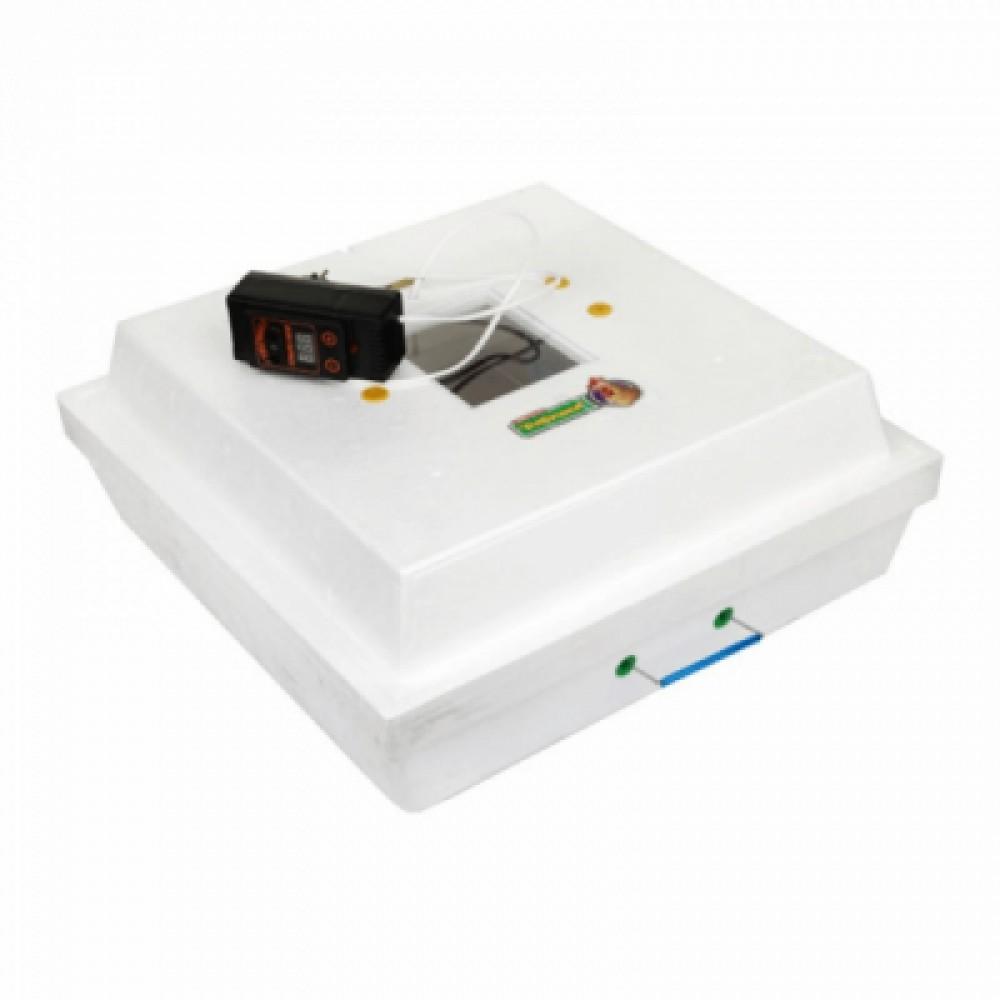 Инкубатор Рябушка 70 яиц, ручной, цифровой выносной терморегулятор, инфракрасный нагреватель