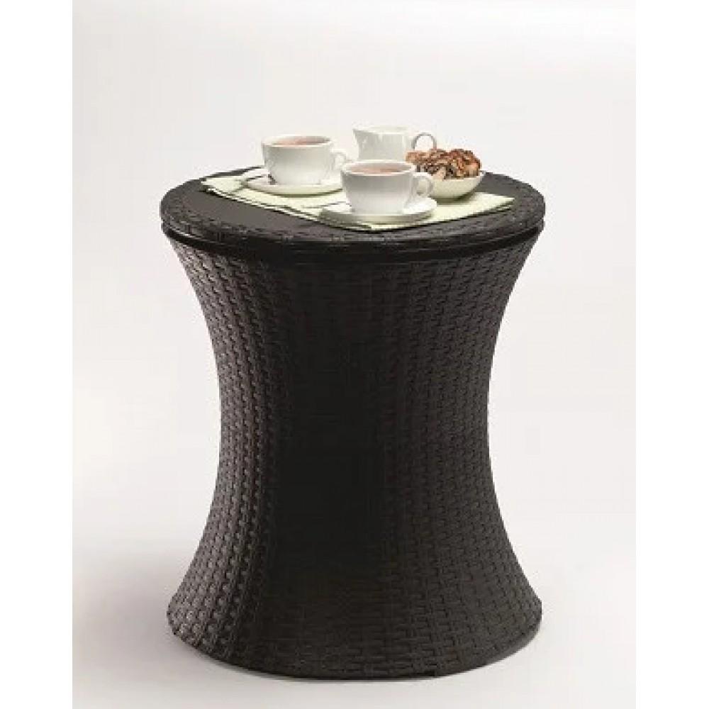 Стол-траснформер Cool Bar Rattan, коричневый