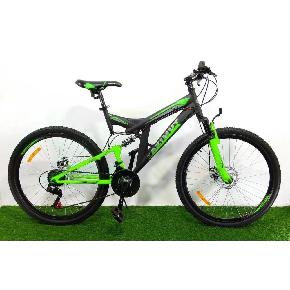 Горный двухподвесный велосипед Azimut Power 26 D+, рама 19,5