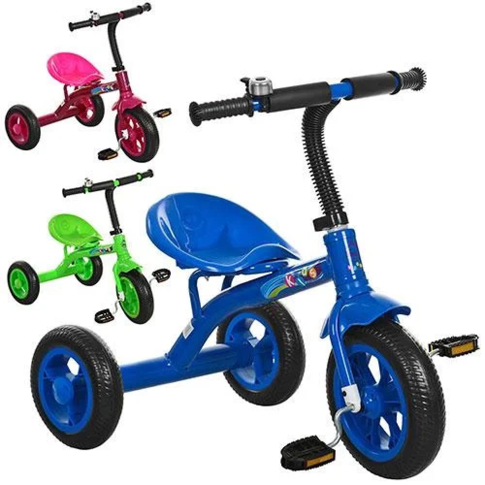 Детский трехколесный велосипед M 3252 ,3 цвета