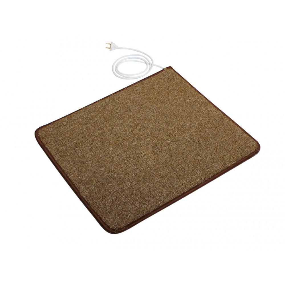 Теплый ковер 53 x 63 cм, коричневый, инфракрасного излучения