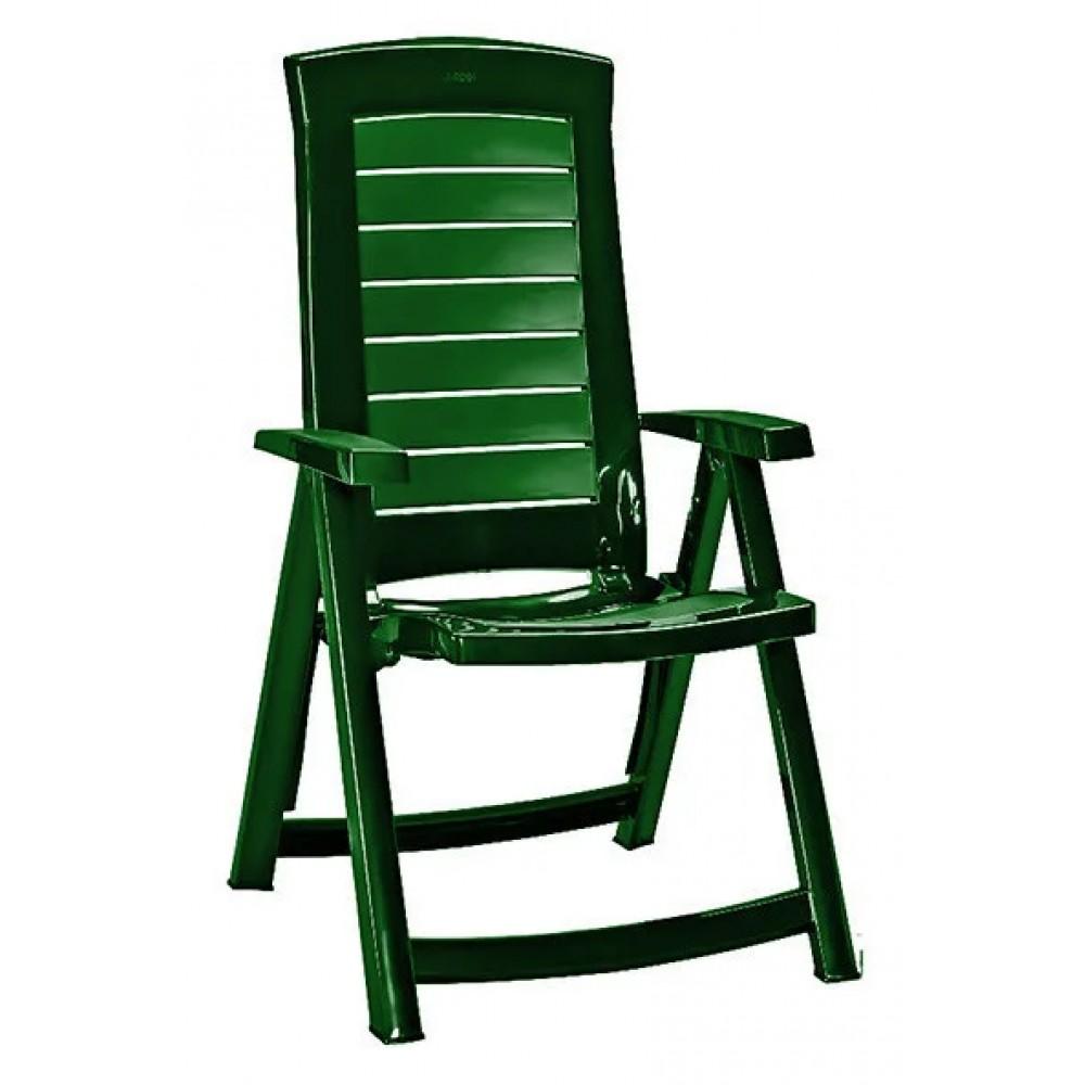 Стул Allibert Aruba пластиковый green