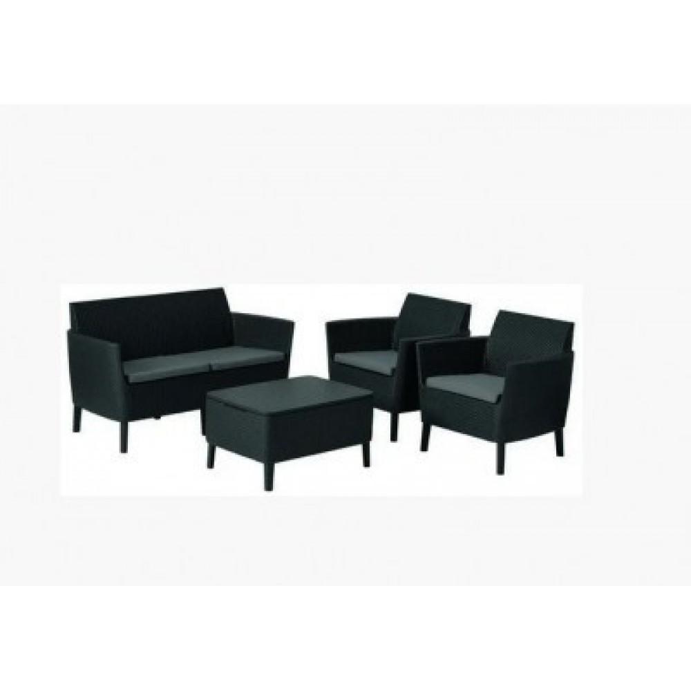 Набор мебели Allibert Salemo set grey