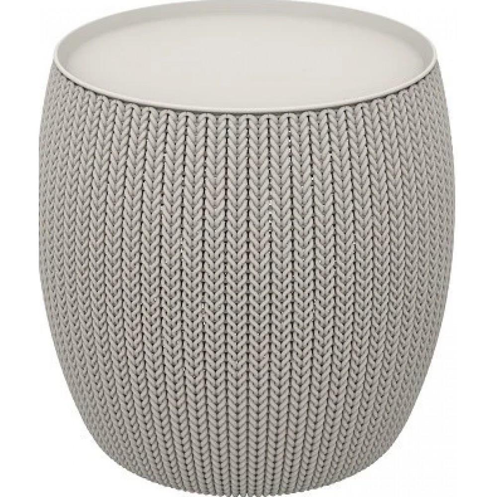 Стол-сундук Keter Kbit (Cozies) Table grey