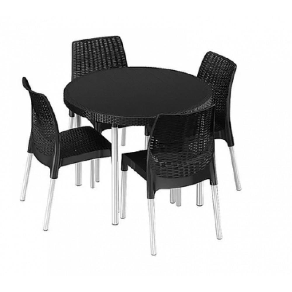Комплект садовой мебели Keter Jersey set grey