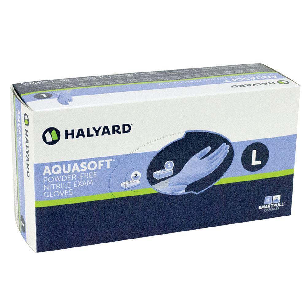 Перчатки нитриловые HALYARD 200 шт, размер L синие
