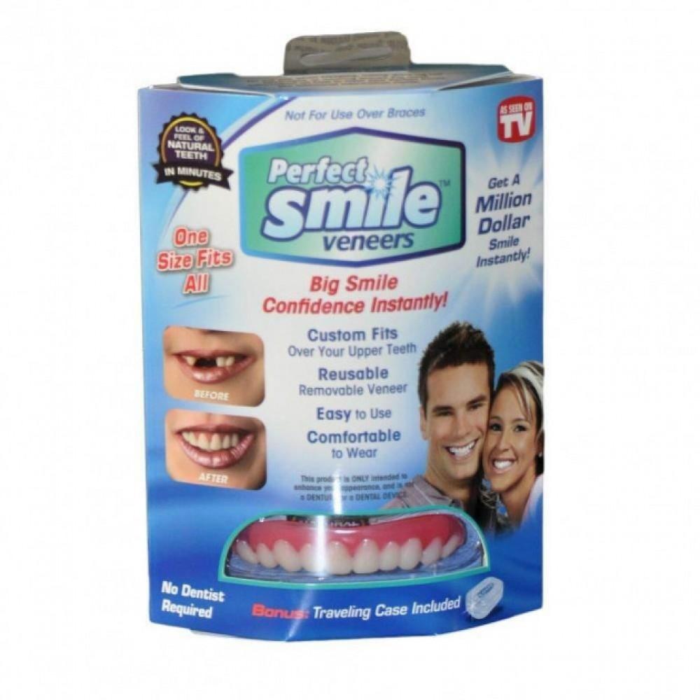 Съемные двойные виниры Perfect Smile