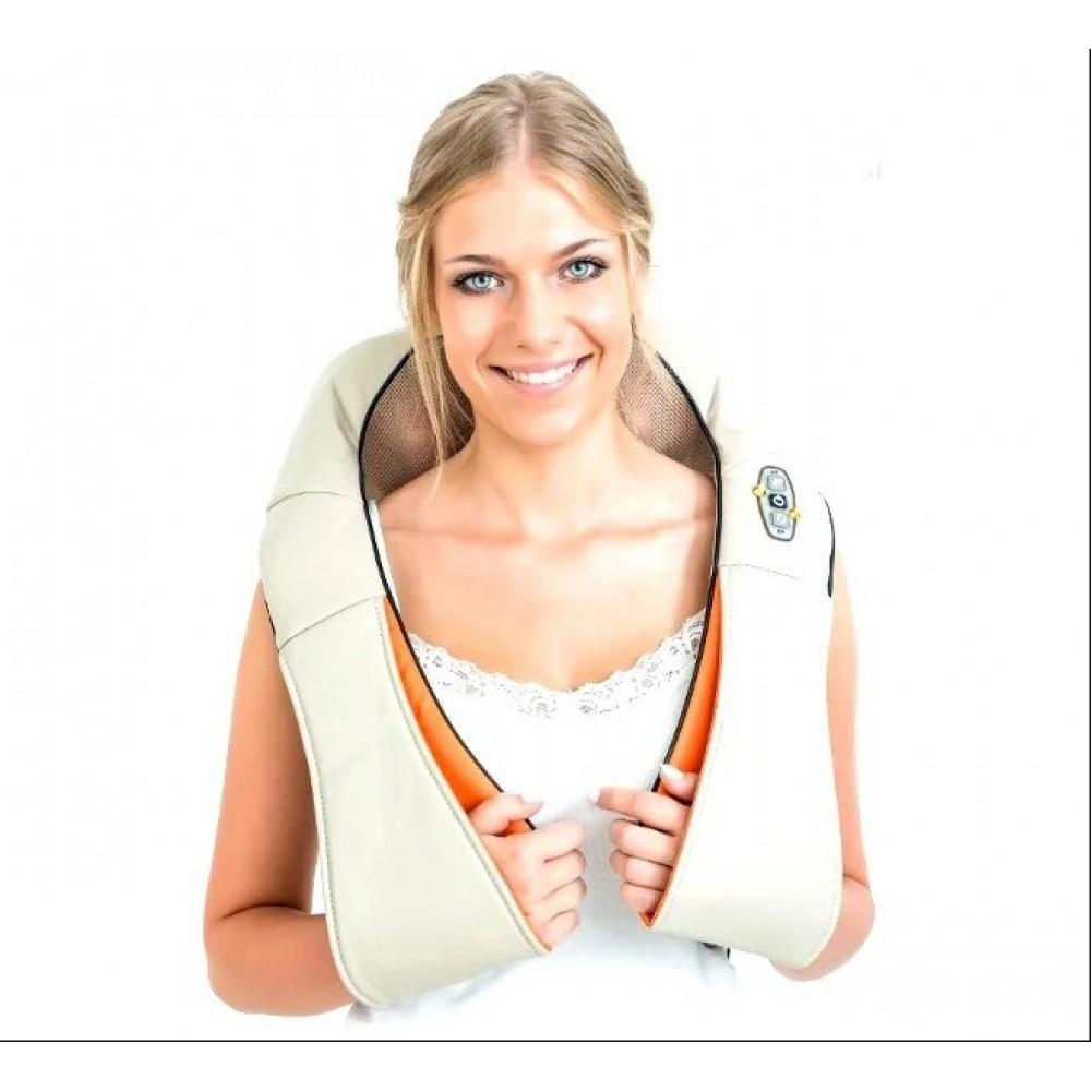 Массажер роликовый для спины и шеи Massager of neck kneading, 98316