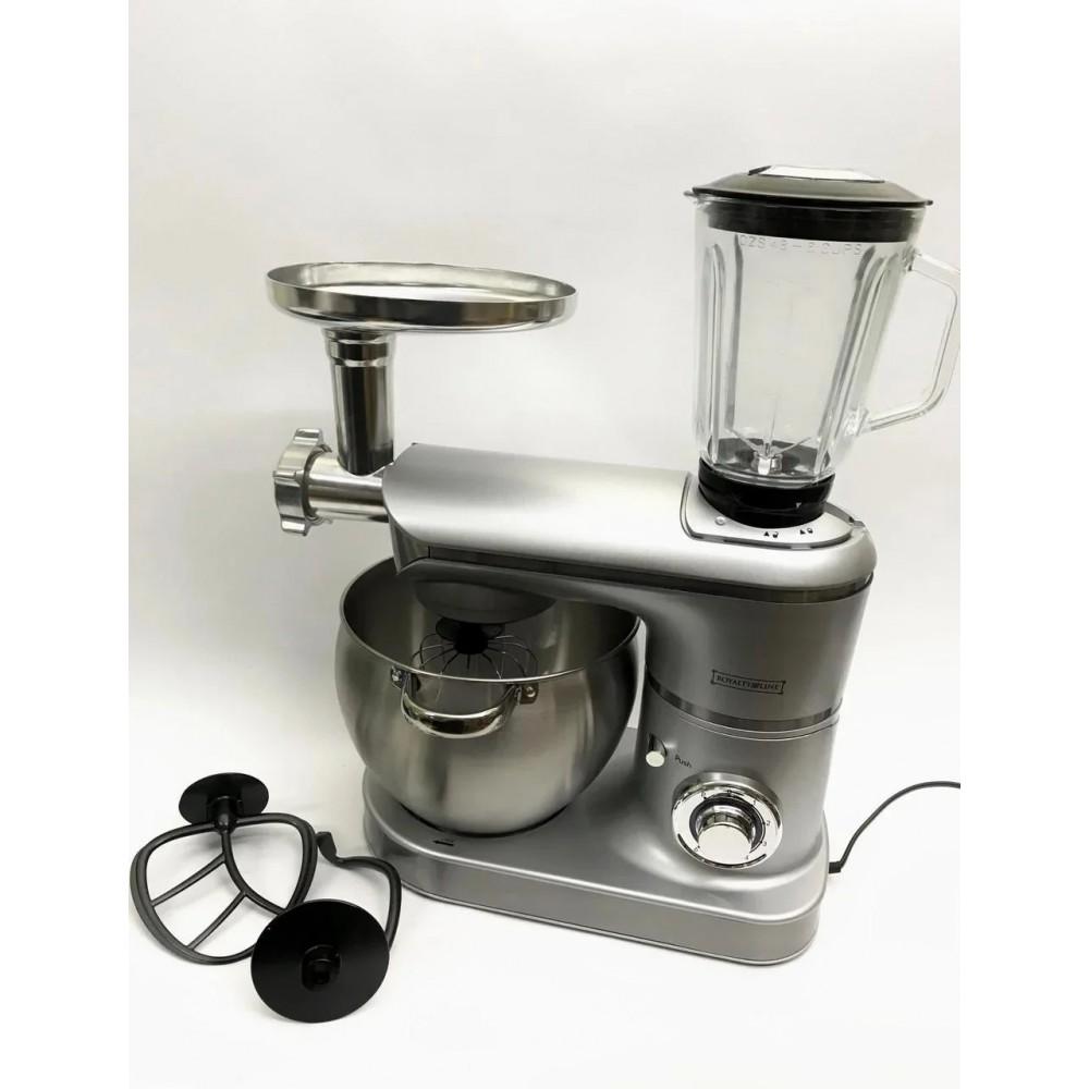 Кухонный комбайн 3в1 Royalty Line 2200Вт Silver