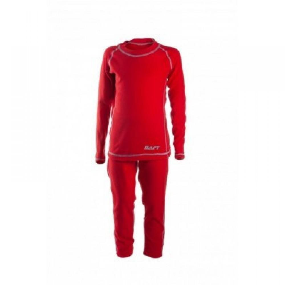Детское термобелье BAFT X-Line KIDS red