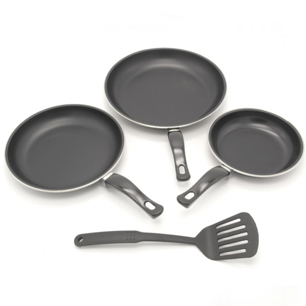 Набор сковородок с лопаткой A-plus, 3 шт, 253 F