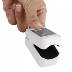 Медицинский пульсоксиметр на палец Oximeter NB002 oled дисплей