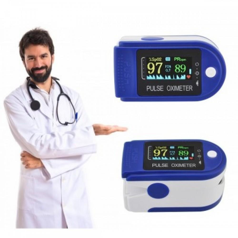 Пульсоксиметр Fingertip Pulse Oximeter с поворотным дисплеем