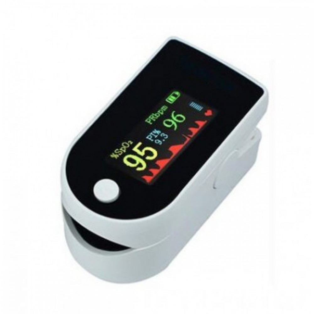 Пульсоксиметр на палец P-03 поворотный LCD дисплей