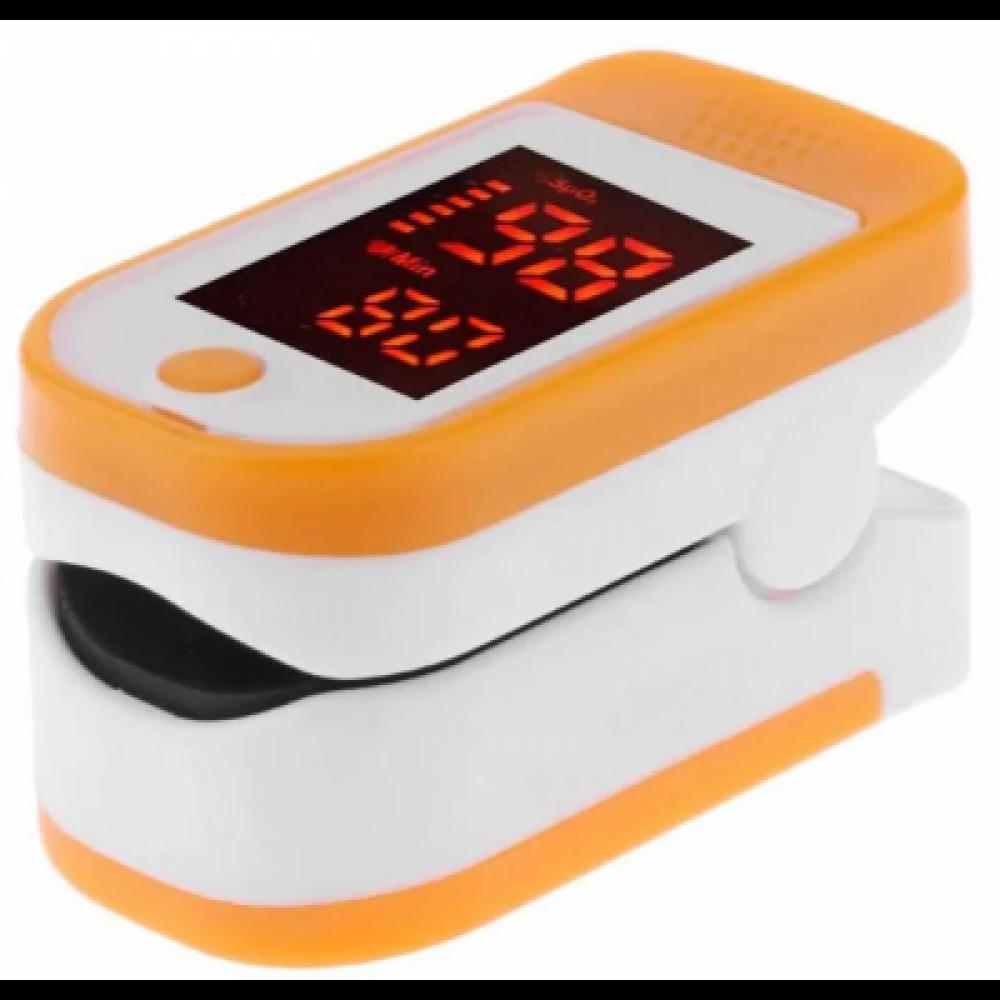 Пульсометр оксиметр на палец, пульсоксиметр Joces XC-BT Orange/White