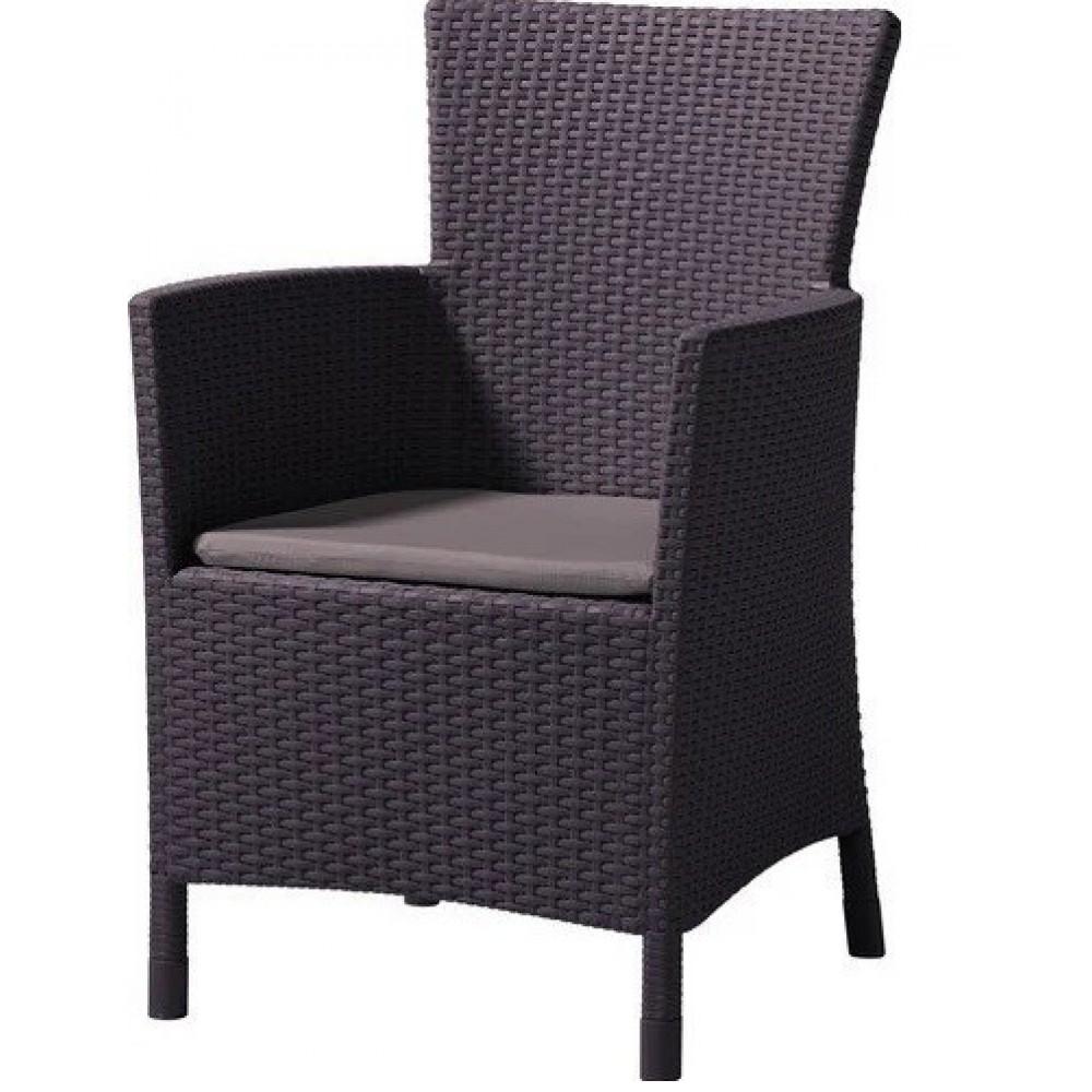 Кресло Iowa, коричневое